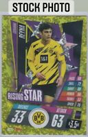 Giovanni Gio Reyna 2020 Topps Match Attax Gold Rising Stars SP Insert Card RS11