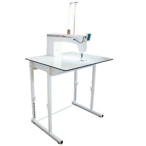 Janome Quilt Maker Pro 18 Versa Longarm Quilting Machine with Sit-Down Table
