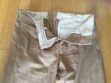 RRL cotton chino kaki size32x32 worn few times
