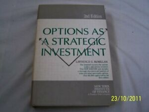 Options As A Strategic Investment by Lawrence McMillan