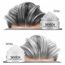 temporary hair color wax men diy mud One-time Molding Paste Dye cream
