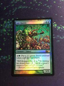 Mtg, FOIL Ant Queen. M10 Foil Release Rare. LP
