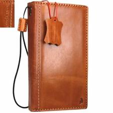 genuine real leather Case for Samsung Galaxy Note 4 book wallet cover slim davis
