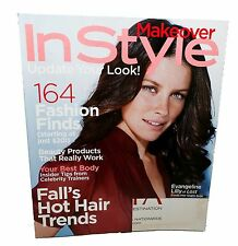 InStyle Magazine - Fall 2006 Back Issue - Evangeline Lilly Cover