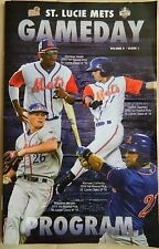 2016 Saint Lucie Mets 60p. Official Program Vol. 9 Issue 1 Ships FREE in US
