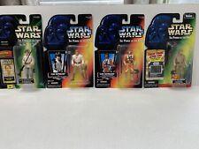 Star Wars Power Of The Force POTF Lot 4 Luke Skywalker X Wing Bespin Flashback