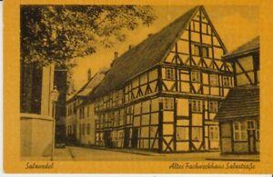 Ansichtskarte Sachsen - Anhalt  Salzwedel  Salzstraße  Altes Fachwerkhaus