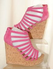 """ALDO Suede Wedge Very High Heel (greater than 4.5"""") Women's Shoes"""