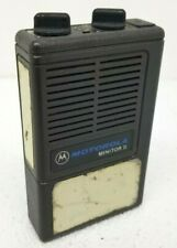 Motorola Minitor Ii Vhf Grey Pager 2 Channel Pager w Battery H03Umc1222Ac