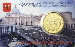 Vatikan 50 Cent 2015 Papst Franziskus in Coin Card Nr 6 Petersplatz