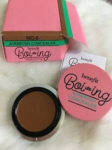 NEW IN BOX  Benefit Boi-ing Airbrush Concealer No 6 DEEP full size 0.17oz