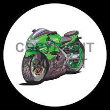Koolart 4x4 4 x 4 Ruota Di Scorta Adesivo Grafica Kawasaki Zx9R 666