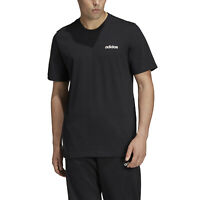 Adidas Men Tshirt Athletics Men's Essentials Plain Tee Gym Training DU0367 New