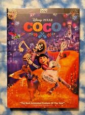 Disney Pixar Coco DVD (New, 2018) - Free USPS FIRST CLASS Shipping