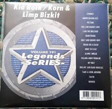 LEGENDS KARAOKE CDG KID ROCK/KORN & LIMP BIZKIT #191 ROCK,RAP 16 SONGS