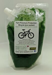 Tyre sealant for Tube & Tubeless tyres 2 tyre pack puncture prevention 400ml