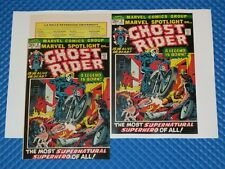 Marvel Spotlight #5 Beautiful Repro Cover With All Original Ads 1st Ghost Rider!