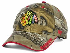 Chicago Blackhawks 47 Brand Frost Hat Adjustable Cap Real Tree