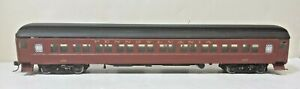 Pennsylvania Railroad 80' Coach 852 Central Valley Trucks Kadees Walthers Built