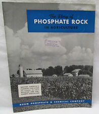 Vintage Rhum's The Story of Phosphate Rock in Agriculture 1941 Booklets