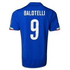 PUMA MARIO BALOTELLI ITALY HOME JERSEY FIFA WORLD CUP BRAZIL 2014 ITALIA SZ L