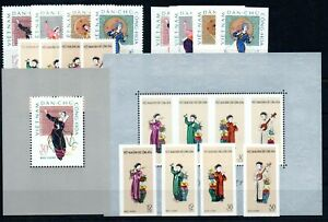 VIETNAM , 1961 , 1962 , TWO  better S/S  and three sets , MNH !