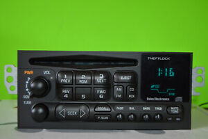 Chevy S10 GMC Sonoma Blazer 98 99 00 01 02 factory CD player radio 15766822