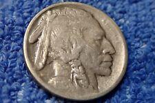 Buffalo Nickel : Rare Grade 1913-S About Très Fin Type I (Buffalo Sur Butte )