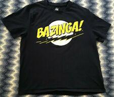 """Authentic Big Bang Theory 'BAZINGA!"""" T-Shirt Size Large"""