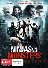 Ninjas Vs Monsters *Action, Gore & Mayhem *  (DVD, 2016) NEW RELEASE REGION 4
