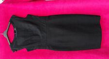 DRESS  LADIES   BLACK    SIZE  10    NEW NWT