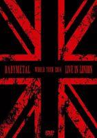 BABYMETAL - LIVE IN LONDON: BABYMETAL WORLD TOUR 2014 2 DVD NEU