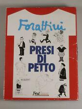 PRL) FORATTINI CRAXI PRESI DI PETTO MAGLIA T-SHIRT STAMPA N° 5 COLLEZIONE SHIRT