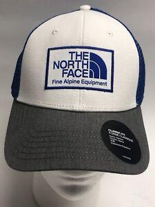 THE NORTH FACE Mudder Trucker HAT Men's OSFA 👍SnapBack Blue White Gray