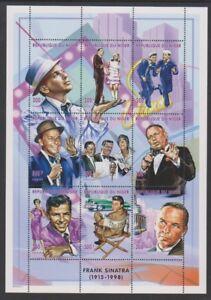 Niger - 1998, Frank Sinatra sheetlet - MNH