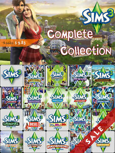 The Sims 3 Complete Collection for PC (Instant download)