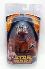 STAR WARS REVENGE OF THE SITH OBI-WAN KENOBI DUEL MUSTAFAR LAVA REFLECTION NIP