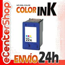 Cartucho Tinta Color HP 22XL Reman HP Deskjet F370 24H