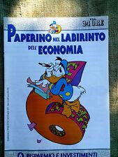 Paperino nel labirinto dell'economia fascicolo n.6  Risparmio e investimenti