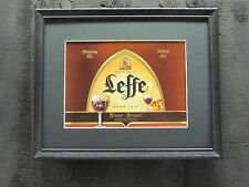 LEFFE BROWN ABBEY ALE BEER SIGN  #647