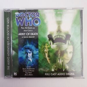 DOCTOR WHO: Army of Death - Big Finish audiobook CD (155)
