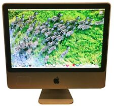"Apple 20"" iMac 2.4GHz Core 2 Duo 320GB 2GB RAM Mac OsX 10.9 W/ Accessories"