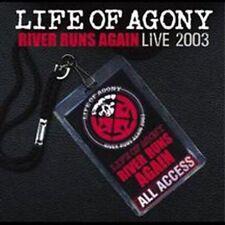 Life of Agony: River Runs Again: Live CD Mina Caputo Keith LOA BROOKLYN NYC