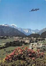 Switzerland Hotel Maloja Palace Village Mountains General view