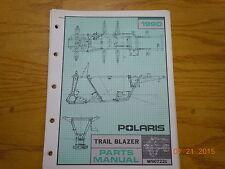POLARIS 1990 TRAIL BLAZER ATV PARTS MANUAL W907221