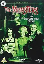 The Munsters Season 1 Series One First R4 DVD