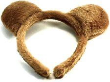 Orejas de oso de peluche marrón Peluche Aliceband Vestido De Fantasía Accesorios Para El Cabello Niños Fiesta UK