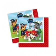 Amscan - 999134 - 20 serviettes Paw Patrol
