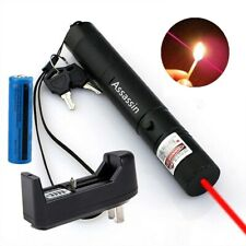 650nm Red Lazer Pointer Astronomy 600 Miles Aluminium Pet Toy Laser+Batt+Char Us