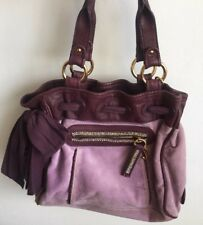 Juicy Couture Purple Bow Bag Gold Hardware